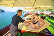 Activities on Dragon Legend cruise