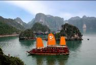 Welcome on board of Halong Jasmine