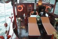 A fine dining restaurant & bar princess junk