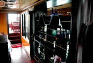 A fine dining restaurant & bar princess junk cruise