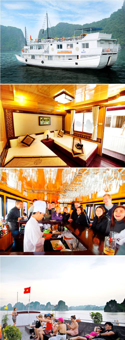 Alova Gold Cruise, Halong Alova Gold Cruise