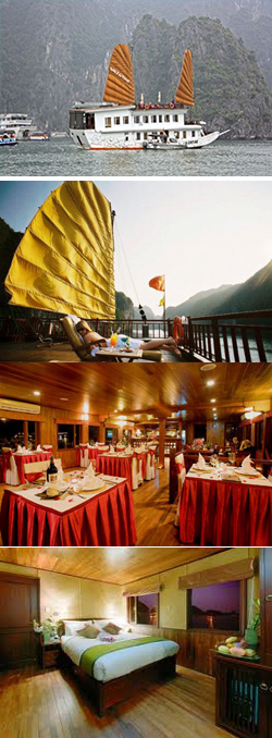 Valentine Cruise belongs to Indochina Sails company