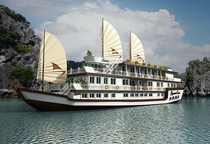 Coming to Signature Cruise Halong bay