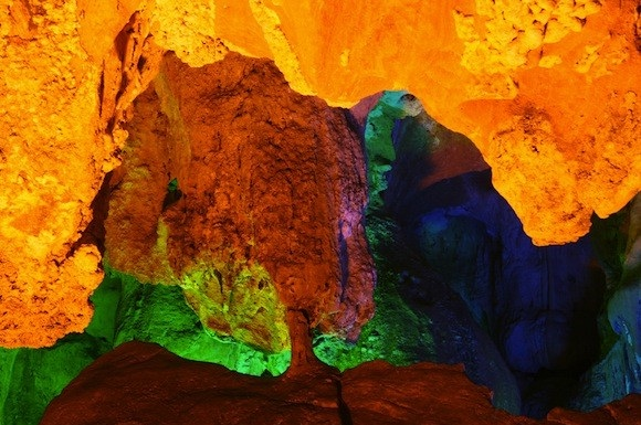 Stunning Surprise Cave of Ha Long Bay