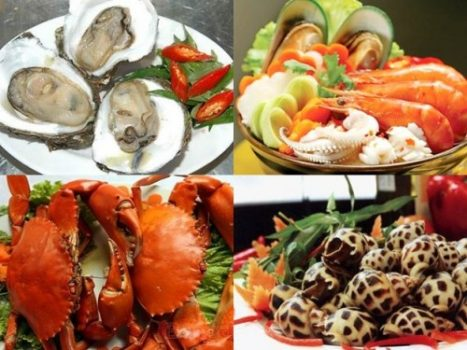 Food in Halong bay