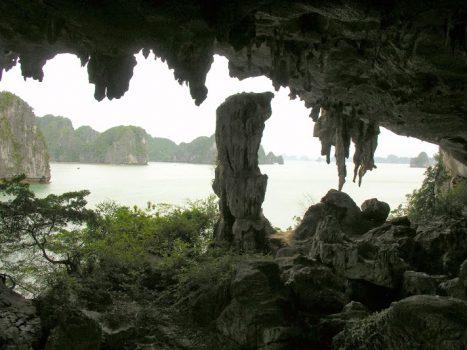 Trong Grotto on Halong Bay