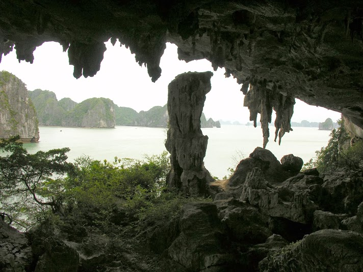 Trong Grotto on Halong Bay