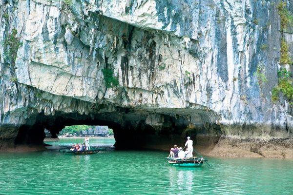 Luon cave attracts many tourists everyday