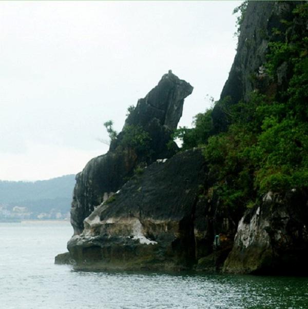 A corner of Cho Da islet