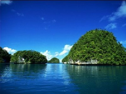 "The ""green"" beauty of Ba Mun Island"
