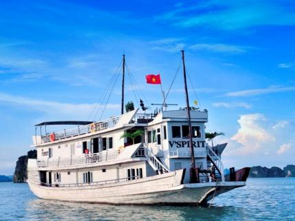 v'ispirit cruise halong bay