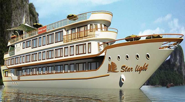 The super luxury ship