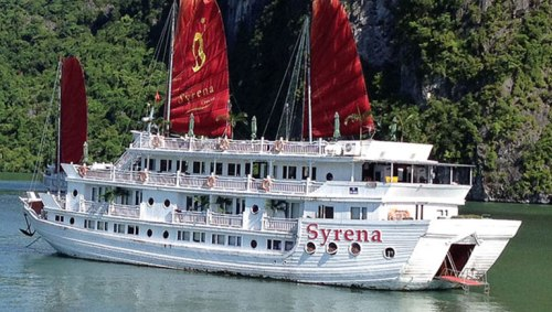The luxury Syrena Cruise