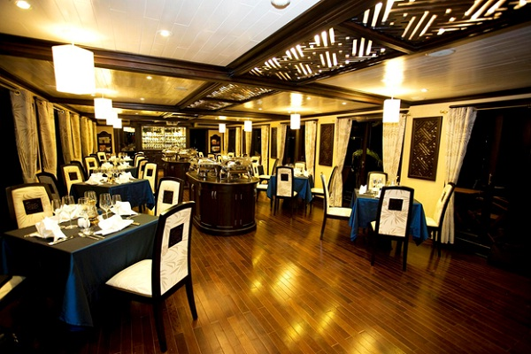 Dining Room of Paradise Cruise
