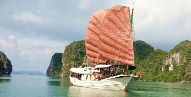 Princess Junk, Halong Travel