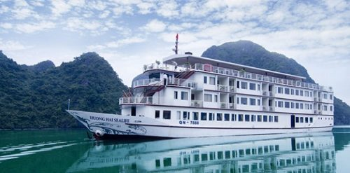 Huong Hai Sealife Cruise on Halong Bay