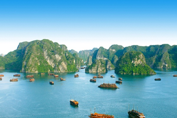 Halong Bay has been world-famous for its natural beauty