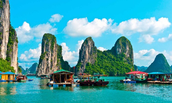 A part of Ha Long bay