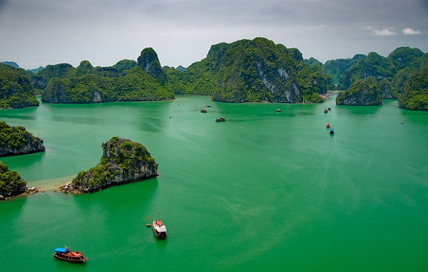 Gifted beauty of Halong