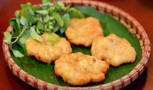 Cha muc is a special food of Halong