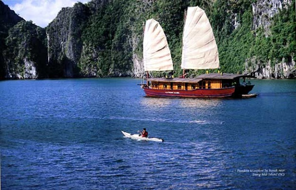 Bai Tu Long Bay stands charmingly besides Halong Bay