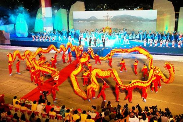 Canarval in Halong is full of cultural activities