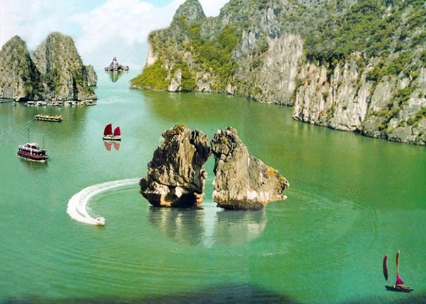 Halong with poetic scenery and hilarious activities