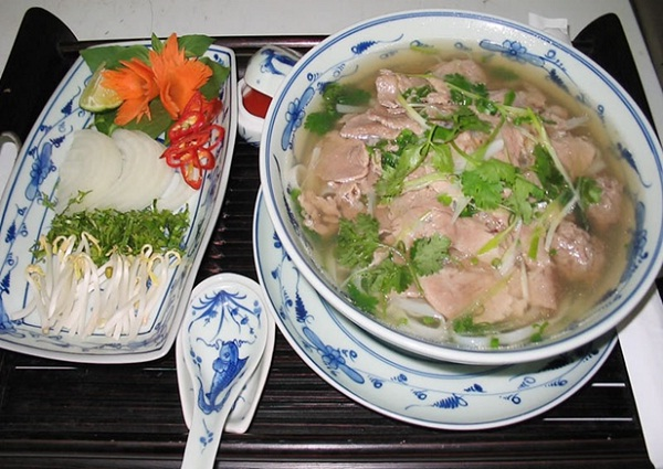 Pho is a traditional dish in Vietnam