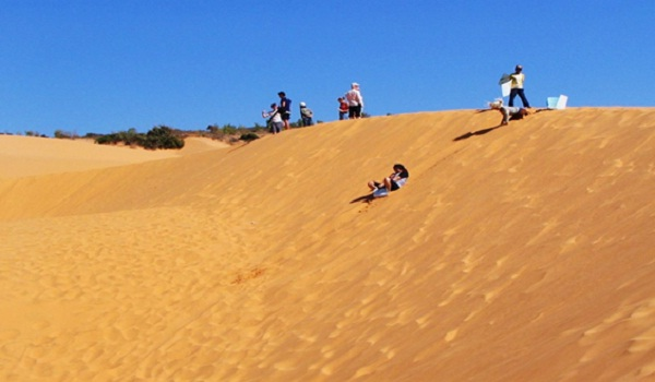 Exciting activities on sand dunes of Mui Ne