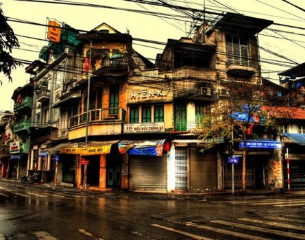 Hanoi Old Quarter has a nearly 1,000-year old history