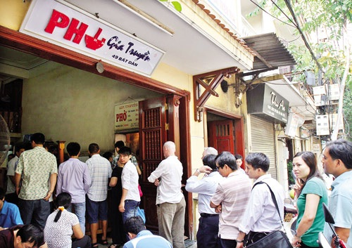 It is one of the most delicious Pho restaurant in Hanoi