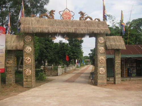Gate of Phuoc Tich Village, Hue – Vietnam
