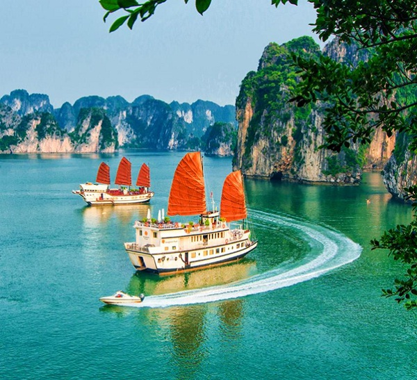 Halong Bay vessel