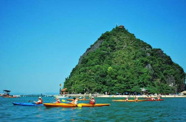 Ti Top Island, the most famous island in top islands in Halong Bay