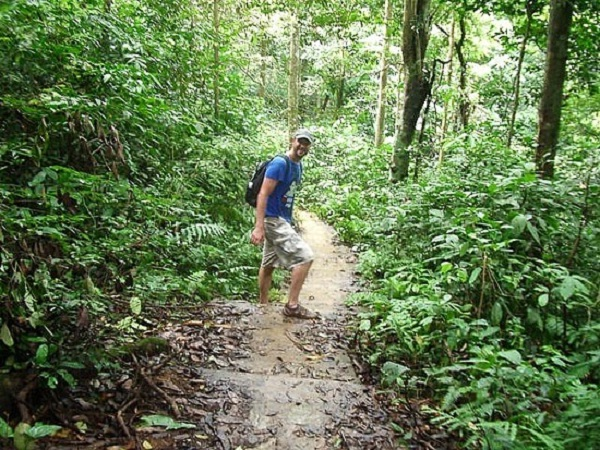 Go hiking in Cuc Phuong National Park