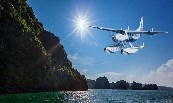 Discover Halong Bay from above