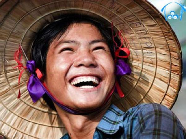 A Vietnamese smile