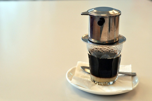 A cup of Vietnamese coffee