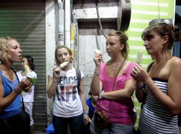 Ice-cream in Hanoi
