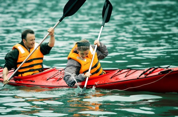 Free kayaking is the first one should be included in your tour