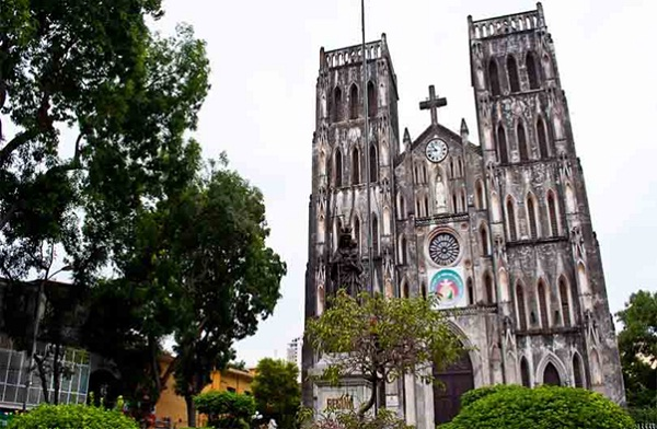 Best churches in Hanoi