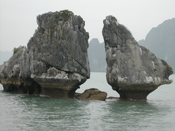 Hon Trong Mai in Halong Bay