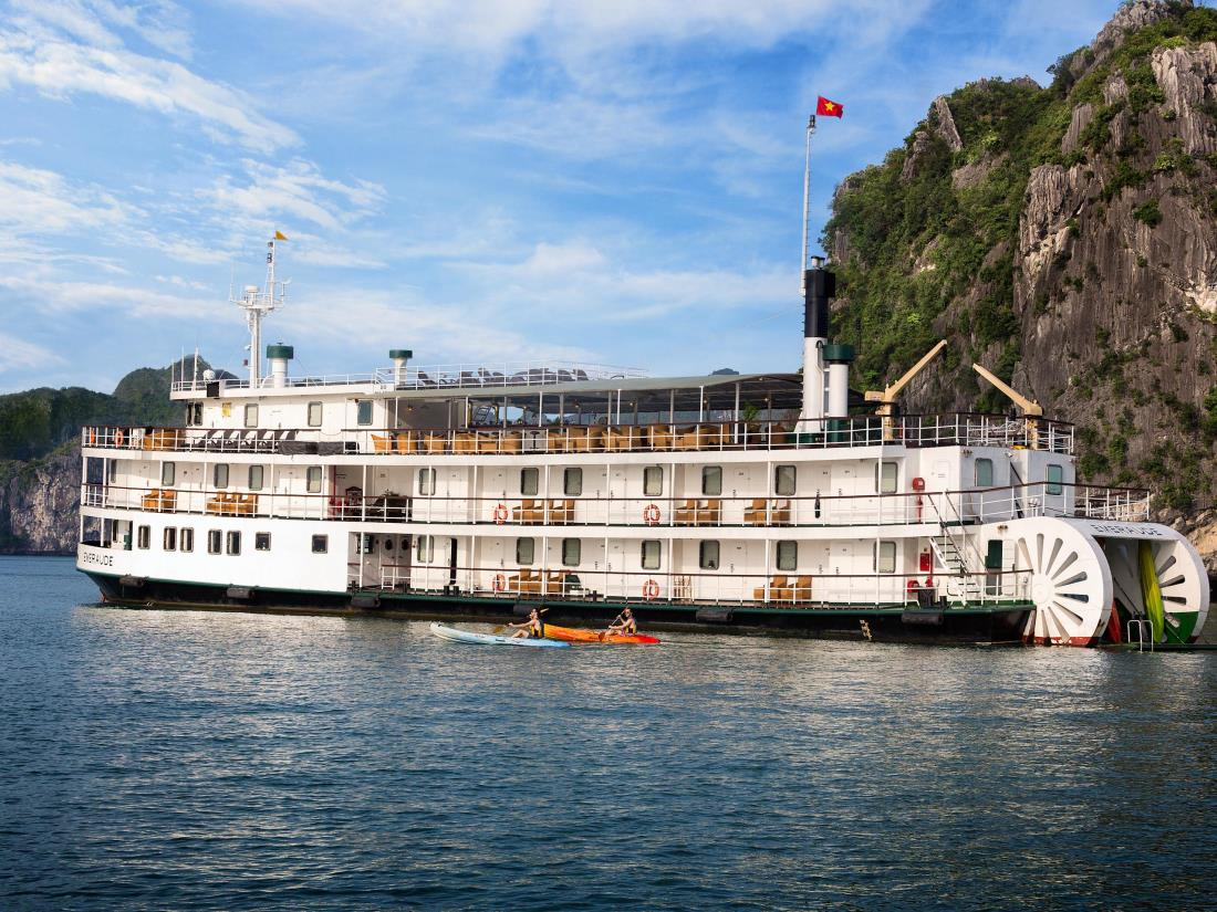 Emeraude Yacht - the pride of the Halong Bay travel