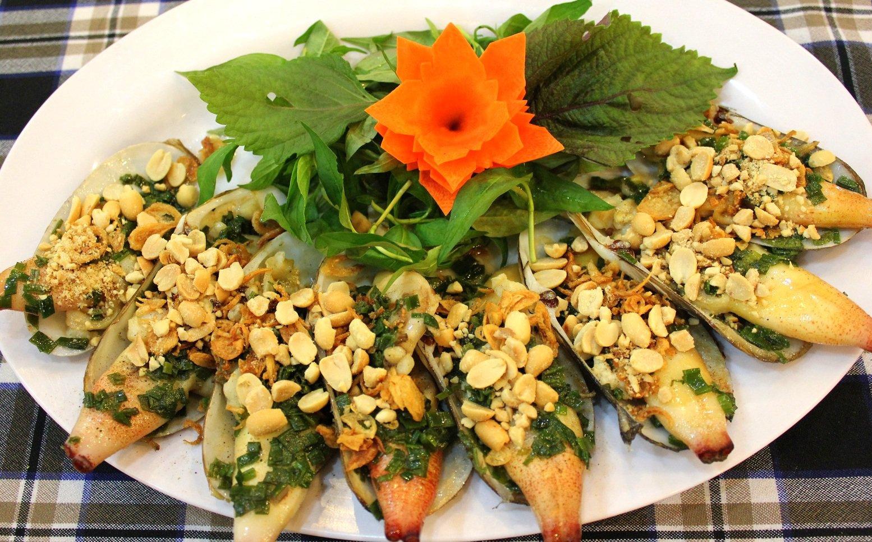 Seafood in Tuan Chau