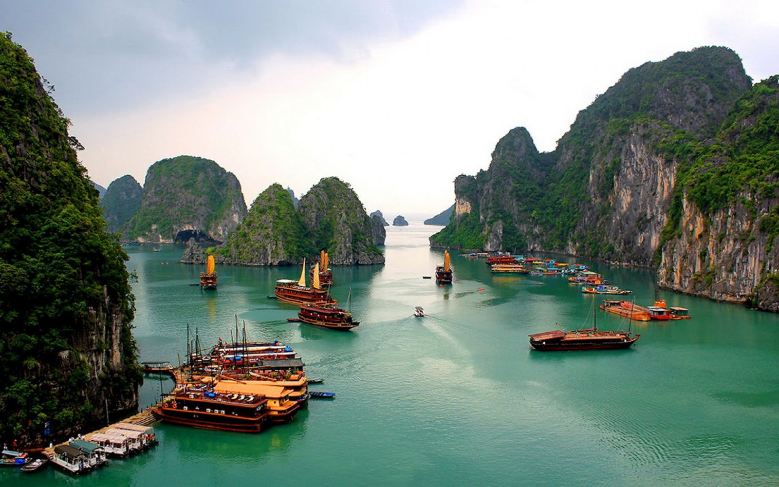 Halong Bay's charm in winter