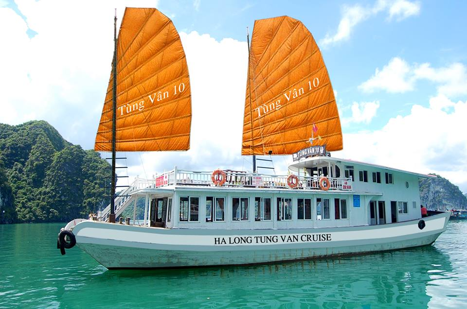 Halong cruise ship