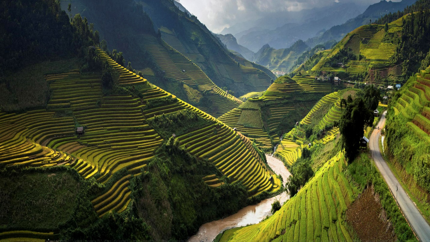 Mighty mountain in Vietnam