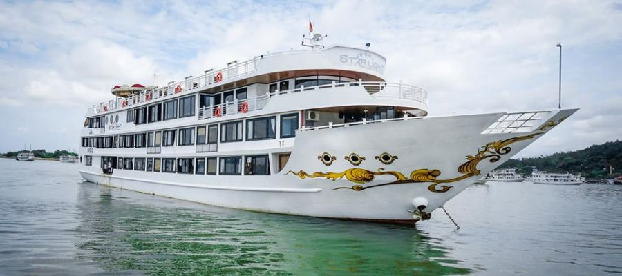 Starlight is one of the largest boats on Halong Bay