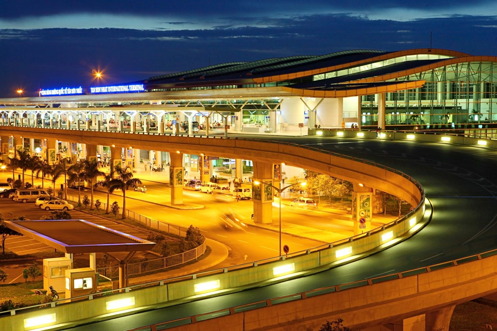Tan Son Nhat International Airport in HCMC