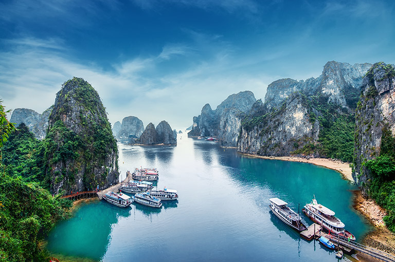 The beauty and mystery of Halong bay